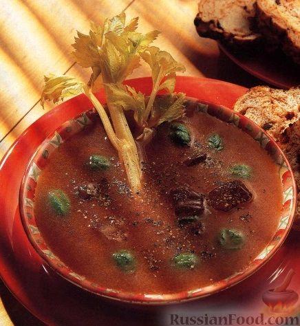 Рецепт Холодный суп-пюре из овощей
