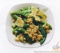 Рецепт Зеленый горошек с кускусом