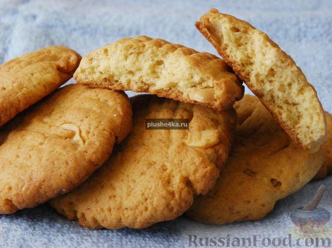 Рецепт Медовое печенье с арахисом