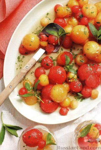 Рецепт Арбузный салат