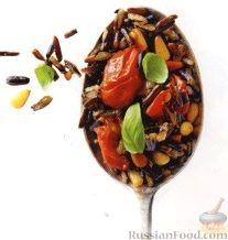 Рецепт Дикий рис с помидорами и кедровыми орешками