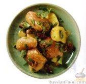 Рецепт Картофель с травами и оливками