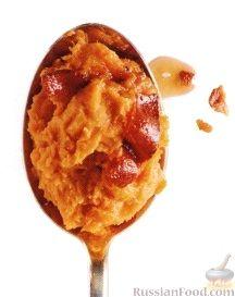 Рецепт Пюре из батата с беконом