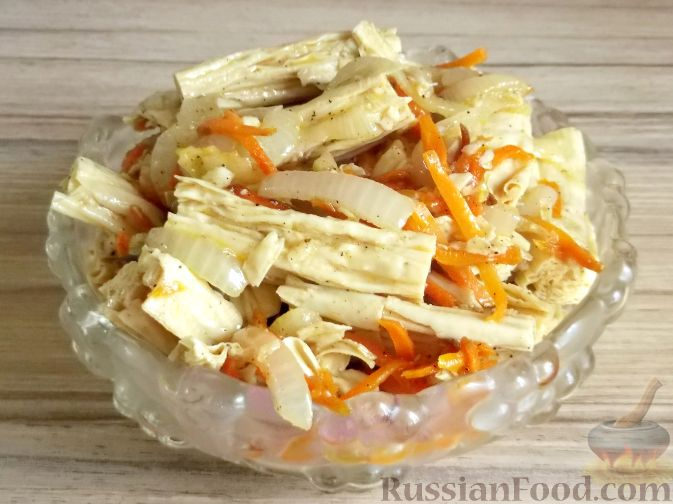 Рецепт Салат из спаржи по-корейски