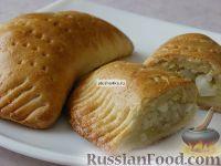 Фото к рецепту: Пирожки с рисом и яйцами