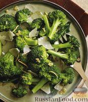 Фото к рецепту: Брокколи с сыром