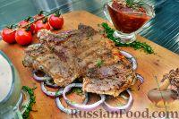 Фото к рецепту: Свинина (шашлык) в луковом маринаде