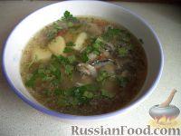 Фото к рецепту: Суп картофельный с хамсой