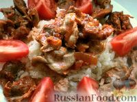 Фото к рецепту: Желудочки куриные по-домашнему