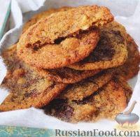 Фото к рецепту: Печенье с шоколадом