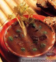 Фото к рецепту: Холодный суп-пюре из овощей