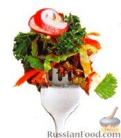 Фото к рецепту: Капустный салат с морковью, редисом и перцем