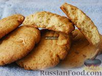 Фото к рецепту: Медовое печенье с арахисом