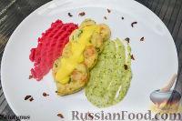 Фото к рецепту: Рыбные котлеты с картофельным пюре