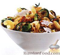 Фото к рецепту: Паста с брюссельской капустой