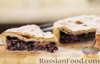 Фото к рецепту: Черничный пирог