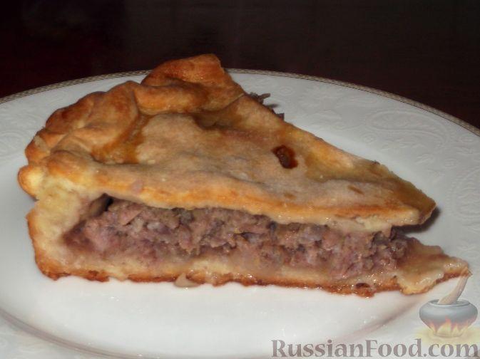 Рецепт Фыдчин (осетинский пирог с мясом)