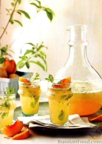 Фото к рецепту: Мохито из персиков