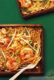 Рецепт Рисовая лапша с креветками