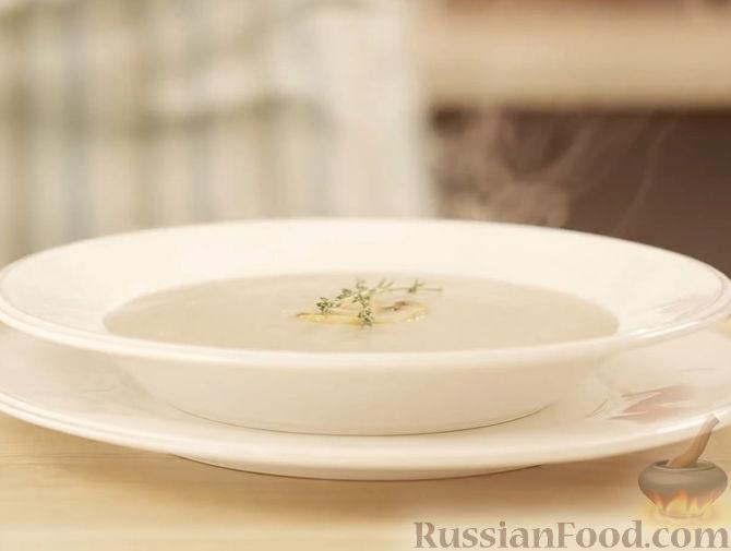 рецепт приготовления крем супа из шампиньонов фото