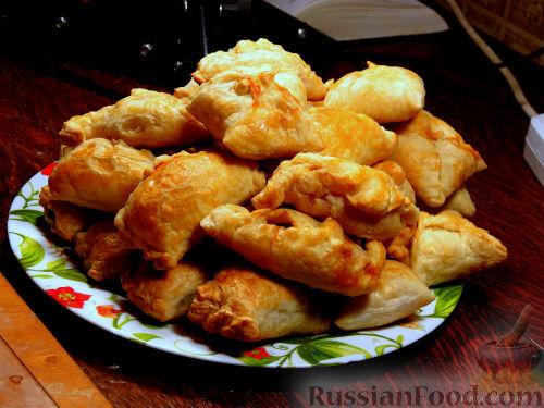 Фото приготовления рецепта: Пирог на кукурузной муке, с апельсинами в сахарном сиропе - шаг №15