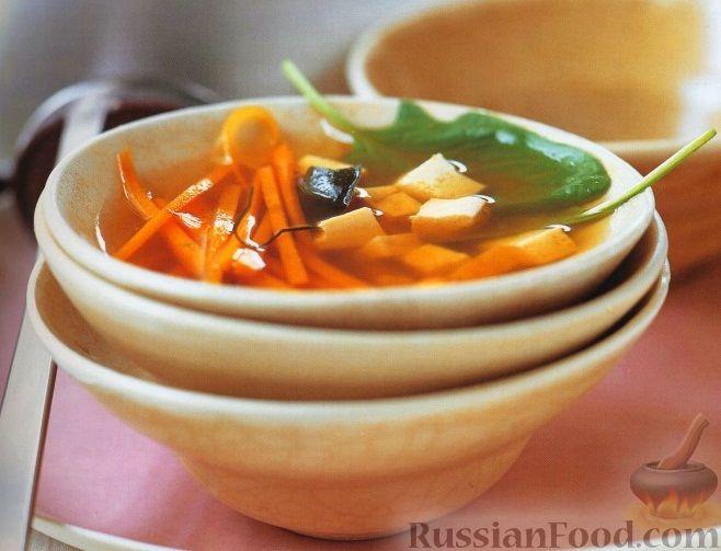 Рецепт Морковный суп с сыром