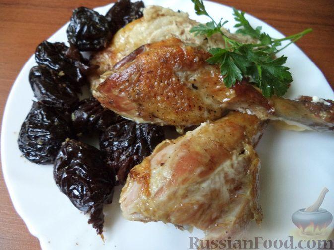 Рецепт Утка с черносливом
