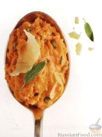 Рецепт Пюре из батата с шалфеем и сыром