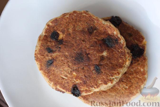 Рецепт Оладушки из овсяной муки (без яиц)