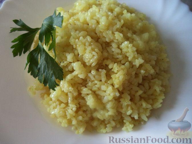 как приготовить рис к карри