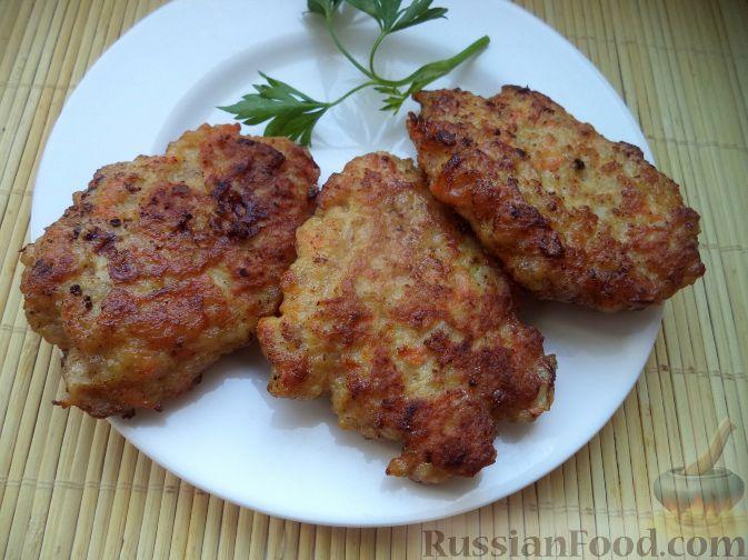 Рецепт Котлеты из мясного фарша с морковью