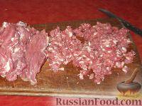 Фото приготовления рецепта: Фыдчин (осетинский пирог с мясом) - шаг №5