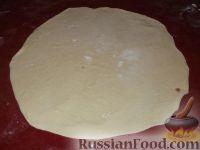 Фото приготовления рецепта: Фыдчин (осетинский пирог с мясом) - шаг №14