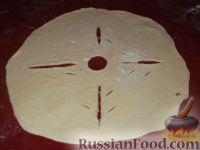 Фото приготовления рецепта: Фыдчин (осетинский пирог с мясом) - шаг №15