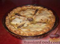 Фото приготовления рецепта: Фыдчин (осетинский пирог с мясом) - шаг №17