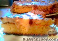 Фото к рецепту: Кефирный тортик
