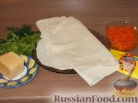 Фото приготовления рецепта: Рулет с корейской морковью - шаг №1