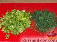 Фото приготовления рецепта: Рулет с корейской морковью - шаг №3