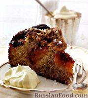 Фото к рецепту: Сливовый пирог