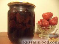 Фото к рецепту: Клубничное варенье с яблочным соком