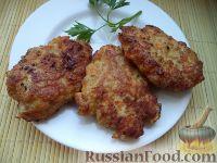 Фото к рецепту: Котлеты из мясного фарша с морковью