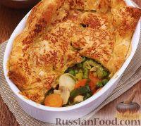 """Фото к рецепту: Овощной """"пирог"""""""