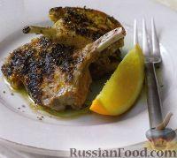 Фото к рецепту: Бараньи ребрышки под цитрусовым соусом