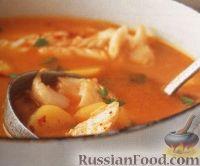 Фото к рецепту: Рыбный суп с апельсиновым соком