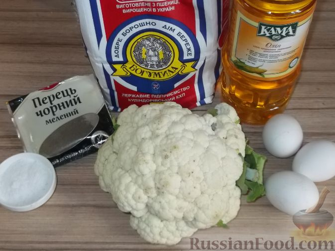 кляр рецепт для цветной капусты