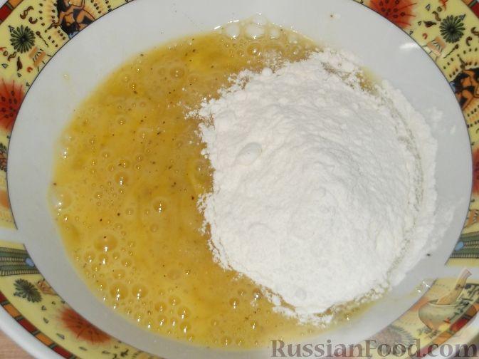 Пирог из дрожжевого теста с сайрой рецепт