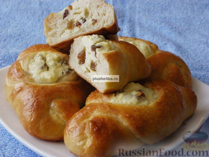 Рецепт Пирожки с творогом и изюмом