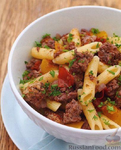 Рецепт Паста с мясным соусом