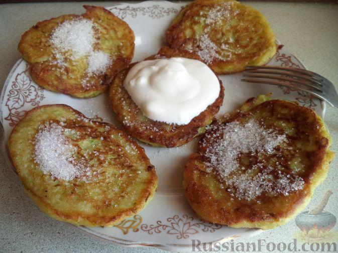 Рецепт Оладьи из кабачков по-домашнему