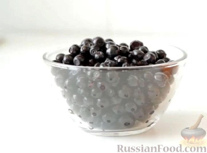 Фото приготовления рецепта: Пастила из абрикосов, клубники и черники - шаг №6